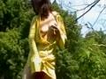【ハメ撮り】私のグチョグチョのマ●コみてください!人妻の熟年カップルの野外プレイ!